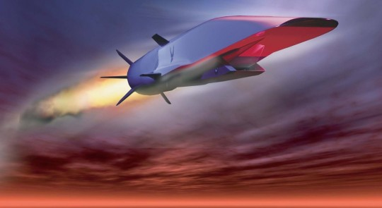 USAF Pushing for a Hypersonic Strike Weapon feature image